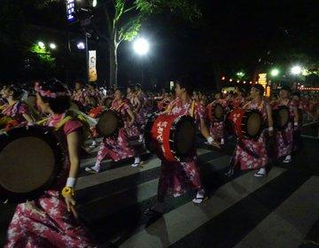 レペゼン岩手の夏祭り「盛岡さんさ踊り」世界一の太鼓パレードへおでんせ♪