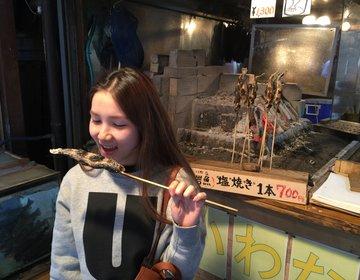 軽井沢〜すぐ側白糸の滝『幻の魚いわな』や団子1,000円で食べ歩きがおすすめ!