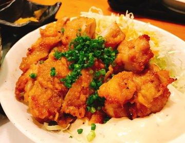【赤坂5分】安定の鳥酎!赤坂リーマン病み付きの名物鶏南蛮定食(780円)がイチオシ。
