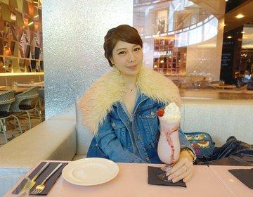 【FAUCHON(フォション)で頂く極上スイーツ】モールオブジエミレーツのオススメカフェ。