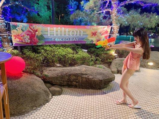 ヒルトン東京ベイ ガーデンプール