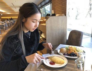 富士山〜山中湖観光『富士マリオットホテル山中湖』おすすめ世界遺産絶景ホテルの朝食
