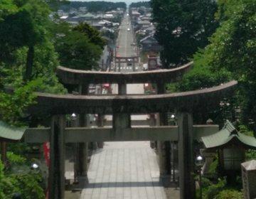 県外や海外からもお参りにくる、有名な宮地嶽神野へ♪