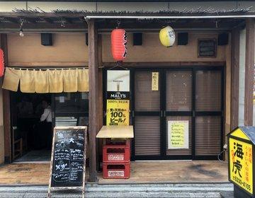 【驚愕】これはヤバい!!モンスター級の唐揚げが出てくる西新宿・海虎で爆盛りランチに挑戦!