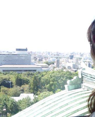 名古屋城 天守閣展望室