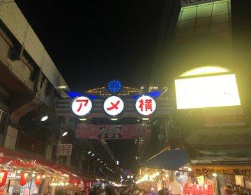 夜の上野をぶらり旅 低予算で街ブラデートプラン