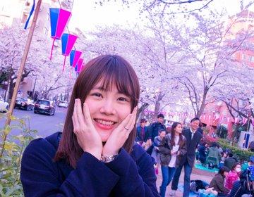 東京に桜の絶景「播磨坂さくら並木」は花見の穴場!カフェで桜を見ながらケーキも♡