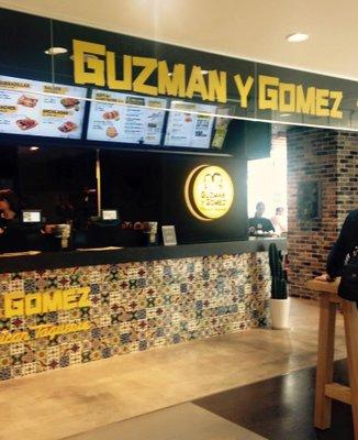 Guzman y Gomez ラフォーレ原宿店