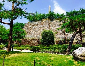 【甲府観光で行きたい!】モダンな甲州夢小路で信玄餅ソフトを買ったら眺めが抜群の舞鶴城公園へ!