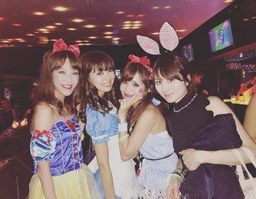 【ハロウィン女子会♡】六本木ColoR.で過ごすコスメコラボのハロウィンパーティー♡