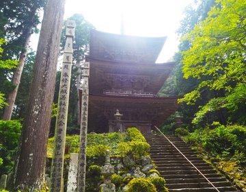 福井県小浜市【明通寺】国宝が2つもあるお寺!三重の塔と仏像は必見◎