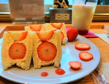 【堀江・カフェ】いちごまみれ♡1時間並んで食べられたら幸運!海外からも人気のソビノワで贅沢タイム♡