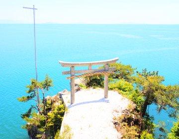 【関西日帰り】大阪から3時間!島全体がパワースポット!人気の無人島・竹生島へ行こう!