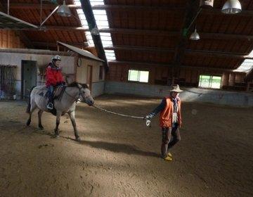 鶴居どさんこ牧場で1日乗馬体験☆気軽に楽しめる!!