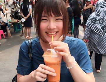 タイ・バンコクで外せない観光スポット!チャトチャックマーケットでタイ料理を食べ歩き♡