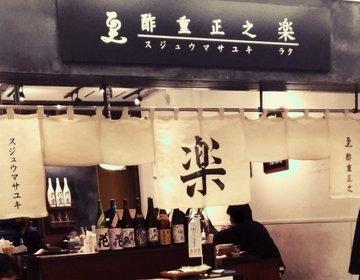 【丸の内】新丸ビル内にある、飲みでも使えるお蕎麦屋さん!