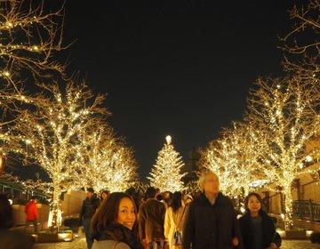 【ちょっと早めのクリスマス】所要時間3時間でめいっぱい都内イルミネーションを楽しむおススメコース♡