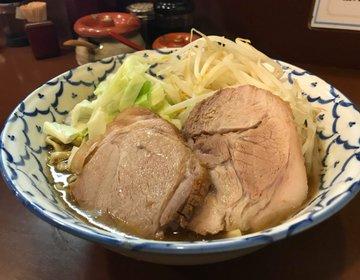 東京のラーメンといえば二郎系!おすすめの東京二郎系ラーメン3選。