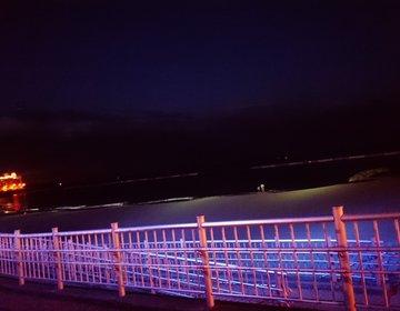 夏は熱海日帰りドライブデート☆サンビーチがライトアップされて絶好のデートスポットに!
