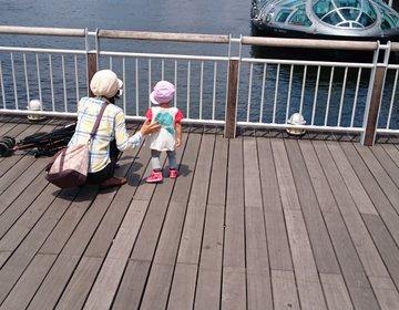 夏休み、お台場海浜公園周辺を子どもと満喫