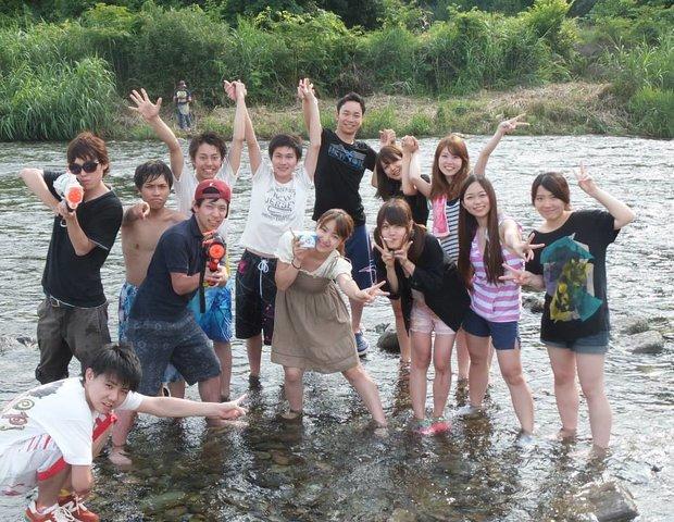 秋川橋河川公園BBQランド(秋川橋河川公園バーベキューランド)