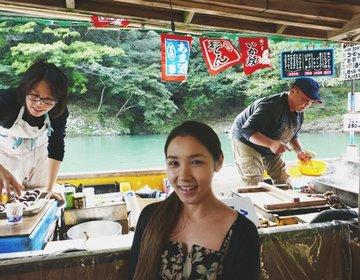 ワンランク上の京都・嵐山遊び方♡屋形船貸切!インスタ映え旅