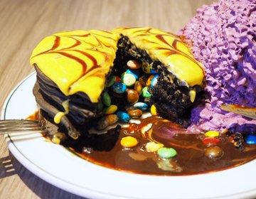 【ゆーきの実食レポ】10/31まで!エッグスンシングスのハロウィンパンケーキの仕掛けにビックリ!