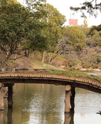 六義園 千鳥橋