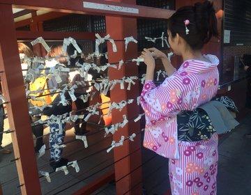 浅草で着物デート♡いつもより可愛い彼女が見れるデートコース教えます!