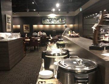 【福岡・中洲】美味しいステーキにバイキング付きのお得ランチを食べる!!!〜同僚・女子会・デート〜
