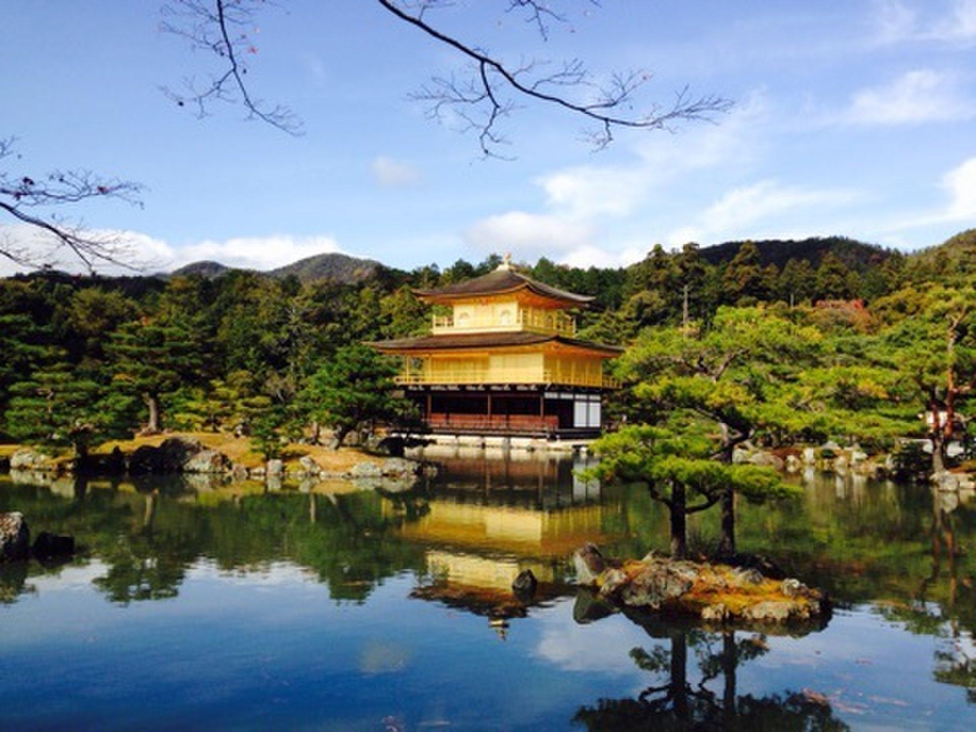 紅葉シーズンの京都定番観光スポット巡り!金閣寺から竜安寺へ♪
