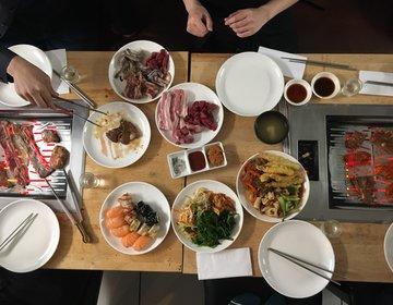 【ロンドンBBQ】コリアンタウンで食べる激安激安激安のコスパ最強BBQキムチビレッジ!