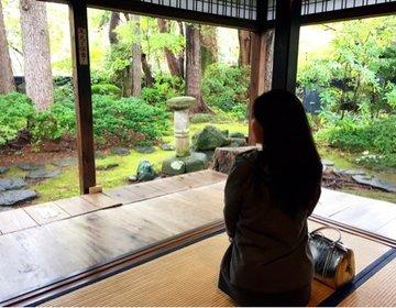 秋田の武家屋敷通り。江戸のような町並みで秋田のグルメを食す1泊2日の旅。