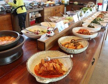 韓国・全州ハノンマウルを観光して、地産地消の農家レストランで食べ放題!