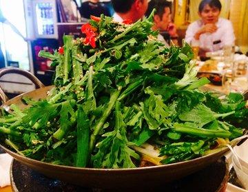 【恵比寿でコスパ最強な韓国料理】無料マッコリと野菜が大量に採れる鍋と焼肉で大満足な飲み会に♪