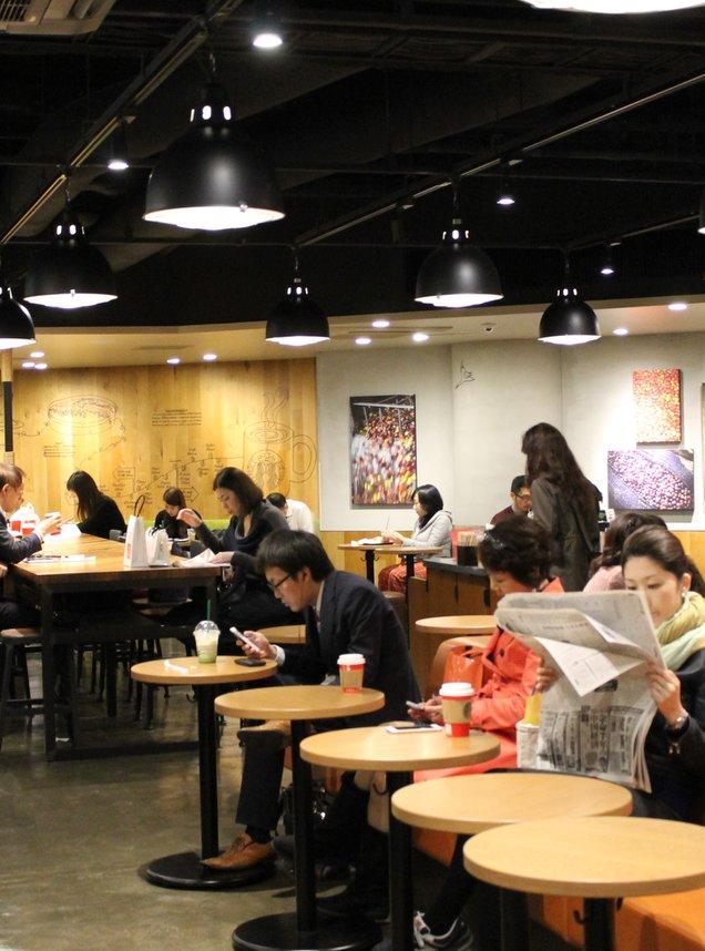 スターバックスコーヒー 渋谷モディ店