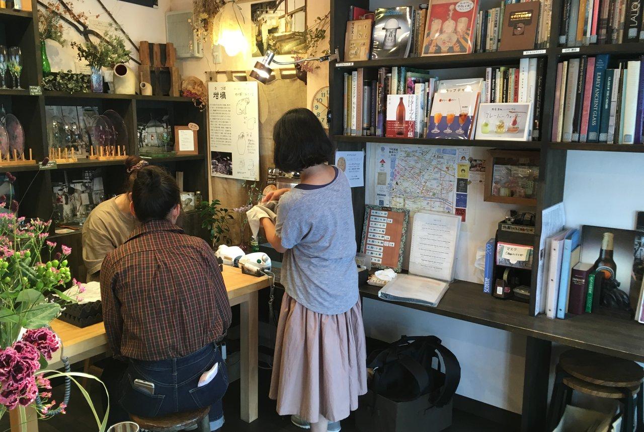 小さな硝子の本の博物館