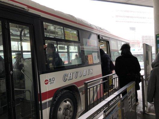 小樽駅前(高速・連絡バス)