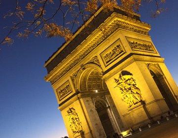 【パリ】フランス大定番!!凱旋門を観光してみよう。