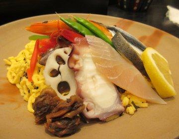 【岡山】岡山駅近くで食べる岡山の名物グルメ~ばら寿司、ままかり寿司、さわら~