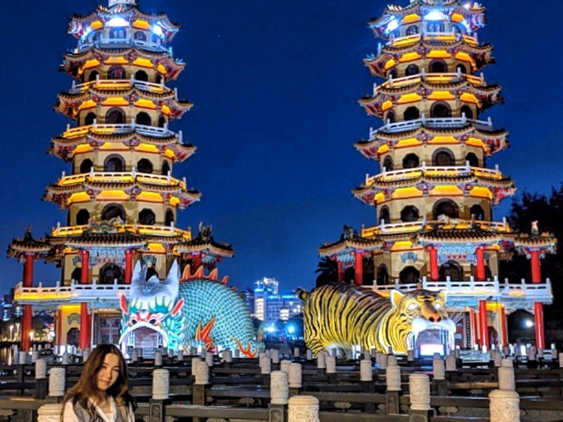 台湾旅行♡高雄おすすめパワースポット「龍虎塔」へ!
