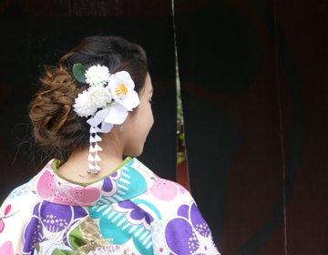 おすすめ京都着物レンタル〜3,500円から『ぎをん小町』種類も豊富!美しく着付★