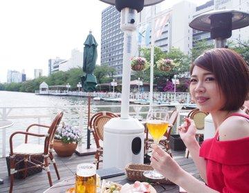 飯田橋デートにオススメのカナルカフェで、絶品ピザとシードルでまったりデート!船上みたいなお洒落カフェ