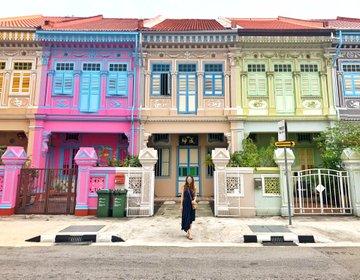 『シンガポールのカラフルな建物』クーンセンロードとその周辺おすすめスポット