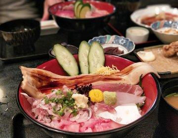 熱海の激ウマ海鮮丼はここ。予約殺到の海鮮居酒屋・穴場の時間帯も教えます。おすすめランチ