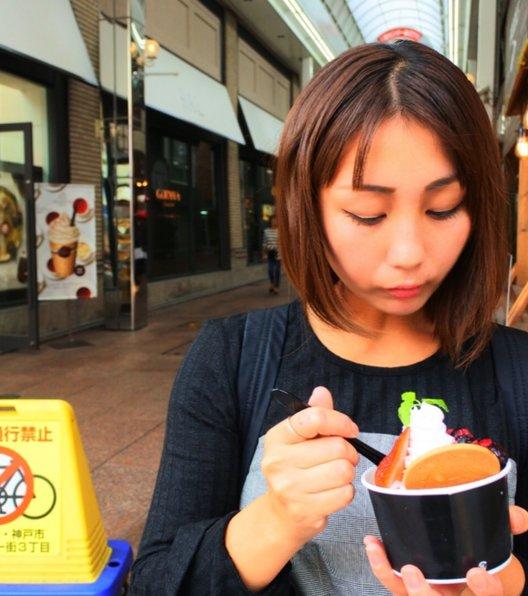 マンハッタンロールアイスクリーム 神戸三宮店