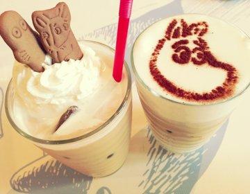 【東京の後楽園の東京ドームシティでデートプラン】ムーミンカフェでほっと一息。巨人戦で大盛り上がり!