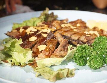 肉食女子にオススメ♡女子会は新橋駅前の水槽がある肉バルでお肉フルコース!