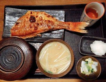 居酒屋だけど定食アリ!渋谷「越後屋 三太夫」の健康焼き魚定食でヘルシー夕飯を♡