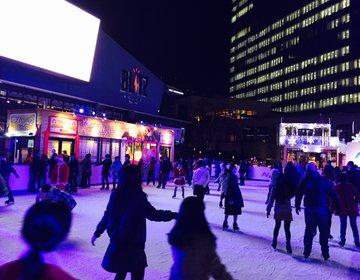 【赤坂で冬のデート】初めてのデートにおすすめなランチからの距離の縮まるスケートデート☆